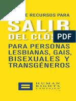 GuiaParaSalirDelCloset 2013