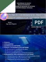 tecnicasyherramientasparaeldesarrollodesoftware-130116075405-phpapp02