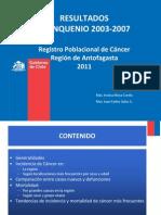 Resultados Quinquenio 2003-2007 Final-1