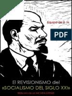 El Revisionismo Del «Socialismo Del Siglo XXI»; Equipo de B. N.; Bitácora de Un NICARAGÜENSE