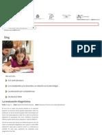 Blog Santillana - La Evaluación Diagnóstica