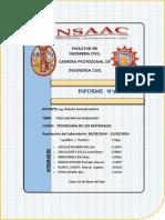 Informe de Peso Unitario de Agregado Fino y Grueso - Tecnología de Concreto - Ing. Ronald