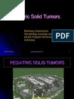Pediatric Tumors Kuliah S1 SEPTEMBER 2010