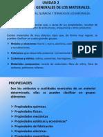 Propiedades Generales de Los Materiales.