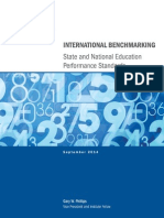 AIR International Benchmarking State and National Ed Performance Standards