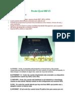 Router Zyxel 660 V3