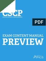 2014 Cscp Ecm Preview
