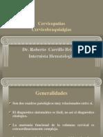 Cervicalgias y Cervicobraquialgias