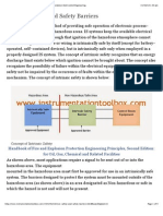 Intrinsic Safety and Safety Barriers ~ Learning Instrumentation And Control Engineering