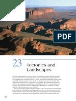 Tectonics and Landforms