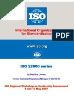 ISO 22000  Pauline Jones
