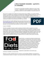 Mantenimiento una Dieta Saludable Saludable - opción para una vida más Saludable.