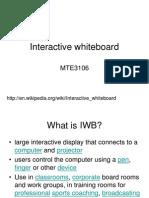 M12- Laboratory- Interactive Whiteboard