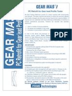 Gear Tester , Rebuilding & PC Retrofit