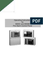 Manual Utilizare Panou Control Incendiu 8000M&8000C