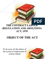 IR- Contract Labour