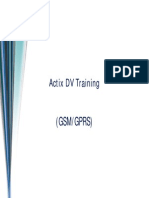Actix DV Training(Only GSM GPRS)