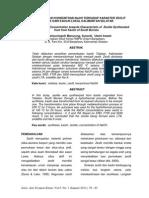 Kajian Pengaruh Konsentrasi Naoh Terhadap Karakter Zeolit Sintetik Dari Kaolin Lokal Kalimantan Selatan
