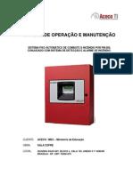 KIDDE - Manual de Operação e Manutenção FM200 e RP-2002