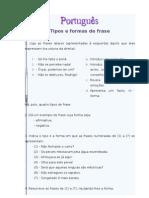 Tipos e formas de frase_7º (TLEBS)