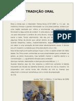 TRADIÇÃO ORAL_8º