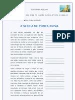 A Sereia de Ponta Ruiva_lenda Para Resumir