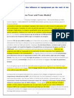 ADNpeutEtreInfluenceReprogrammeParMotsEtFrequences