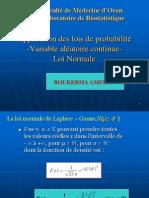 Application des lois de probabilité-Variable aléatoire continue-Loi Normale.ppt