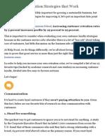 15 Customer Retention Strategies That Work