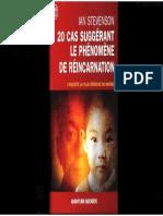 Ian Stevenson - 20 Cas Suggérant Le Phénomène de Réincarnation