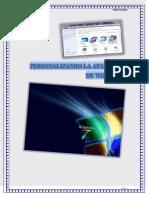 Personalizando La Apariencia de Windows 7