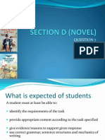 Section d (Novel)