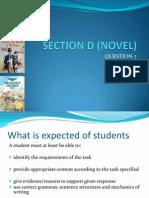 Section d (Novel)