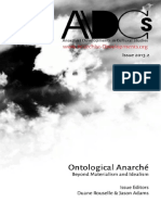 ADCS 2013.2 Ontological Anarche