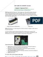 Computer Components Presented by Wahidullah Shahaadat