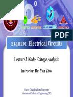 2140201Lecture03 Node VoltageAnalysis