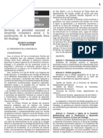 D.S Nª 030-2013-PCM