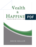 Wealth and Happiness by David Geller