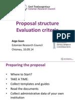 H2020 Proposal