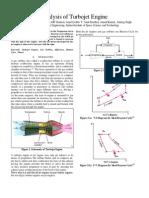 Analysis of Turbojet Engine_final