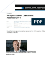 My speech to the UN