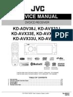 Jvc Kd-Adv38 Avx33 Ma321 Sm