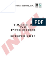 Inael Tarifa Enero2011