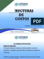 Diapositiva Curso de Estructura de Costos.