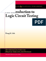 An Introduction to Logic Circuit Testing