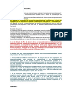 Caderno de Exercicios de Jurisdição Constitucional