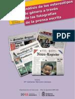 Analisis de Los Estereotipos de Genero a Traves de Las Fotografias de La Prensa Escrita