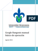 Manual Google Hangouts