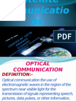 Optical Satellite Comunications