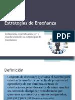 Presentació 3_Estrategias de Enseñanza